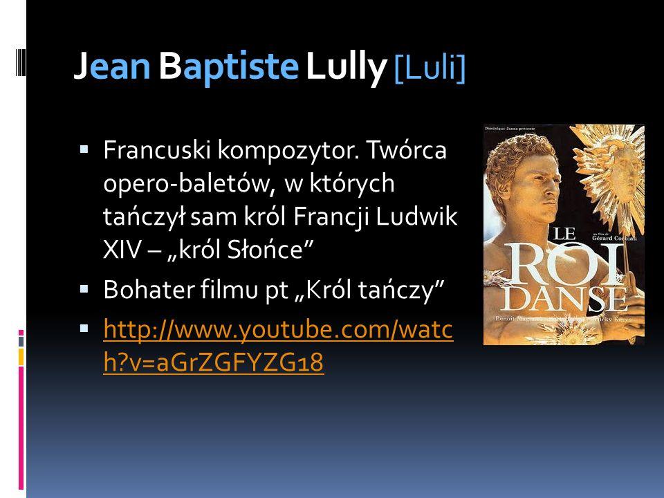 Jean Baptiste Lully [Luli]